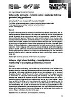 Vukovarska gimnazija – istražni radovi i opažanja složenog  geotehničkog problema