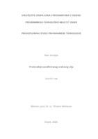 prikaz prve stranice dokumenta Proizvodnja nerafiniranog orahovog ulja